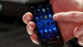 New BlackBerry Z10 review - the latest mobile phone review from Blackberry