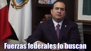 Fuerzas federales buscan a Javier Duarte por delincuencia organizada