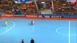 2012フットサルW杯 準決勝 スペインvsイタリア(前半)