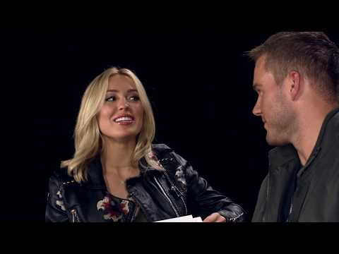 Cassie Randolph & Colton Underwood play this or that |  National #StreamingWeek
