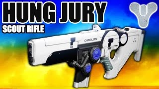 Destiny - HUNG JURY Scout Rifle - You Guys Were Right! (Destiny Legendary Guns)
