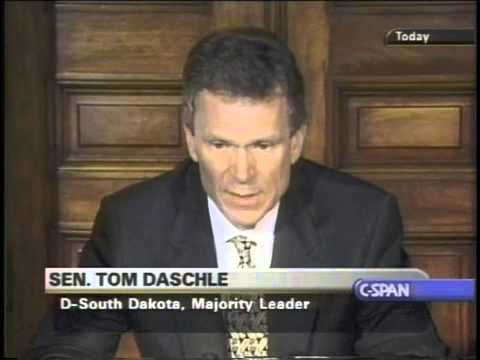 Cheney & Bush Asked Tom Daschle Not To Investigate 9/11 AT ALL