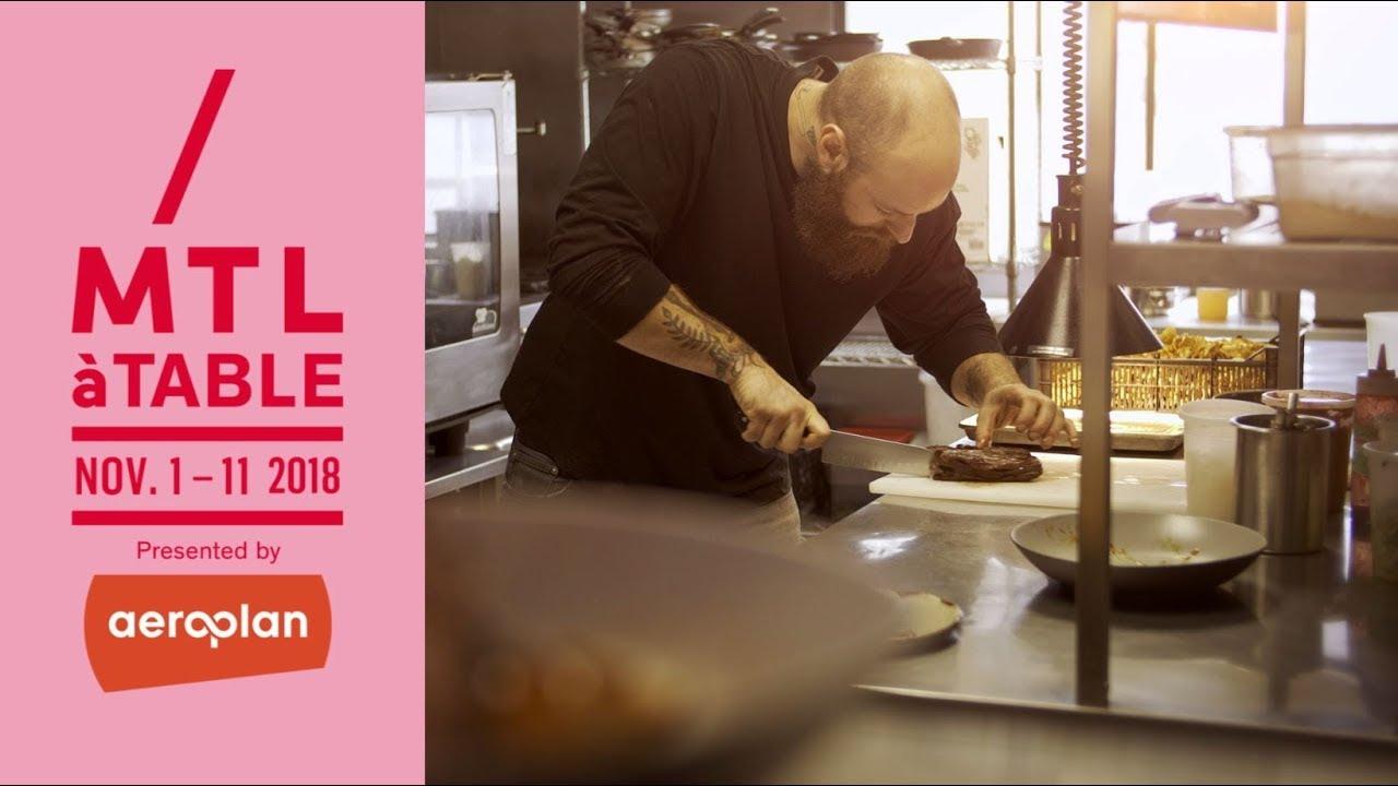 Mtlatable 2018 Montreal Restaurant Week