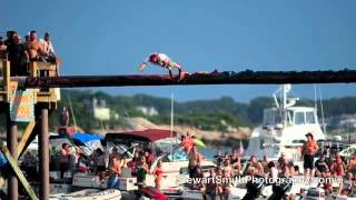 St. Peters Fiesta Greasy Pole Champion Gloucester, Ma. 2012