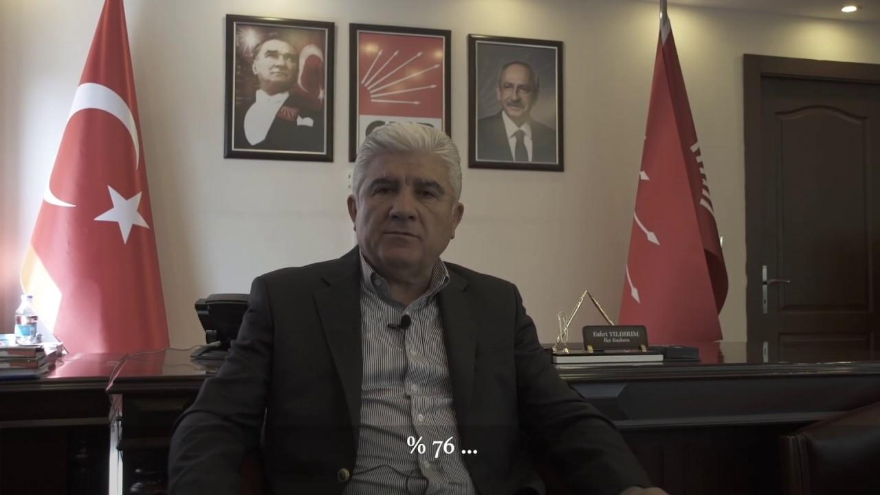 Çankaya İlçe Başkanımız Fahri Yıldırım'ın,  31 Mart yerel seçimleri değerlendirmesi.