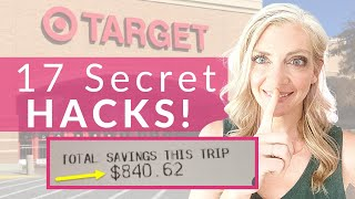 17 SECRET Saving Hacks Target | Employee's DO NOT Want You To Know!