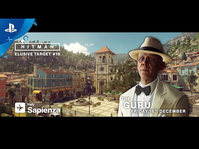 HITMAN - Elusive Targets - The Guru Trailer | PS4