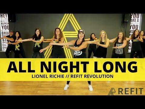 """All Night Long"" || Lionel Richie || Fitness Choreography || REFIT®️ Revolution"