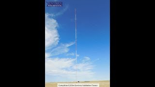 Sentrex 203m Completed Validation Tower Drone Video