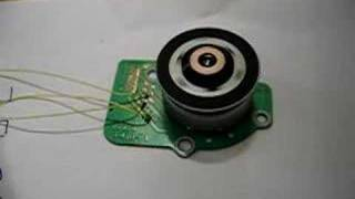 Brushless CD-ROM motor operated from MATLAB -- II