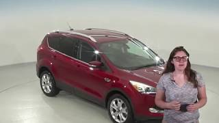 A95743GT - Used, 2014, Ford Escape, Titanium, AWD, Red, Test Drive, Review, For Sale -
