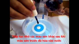 Cung thuc hien Water Marble voi Lady Care