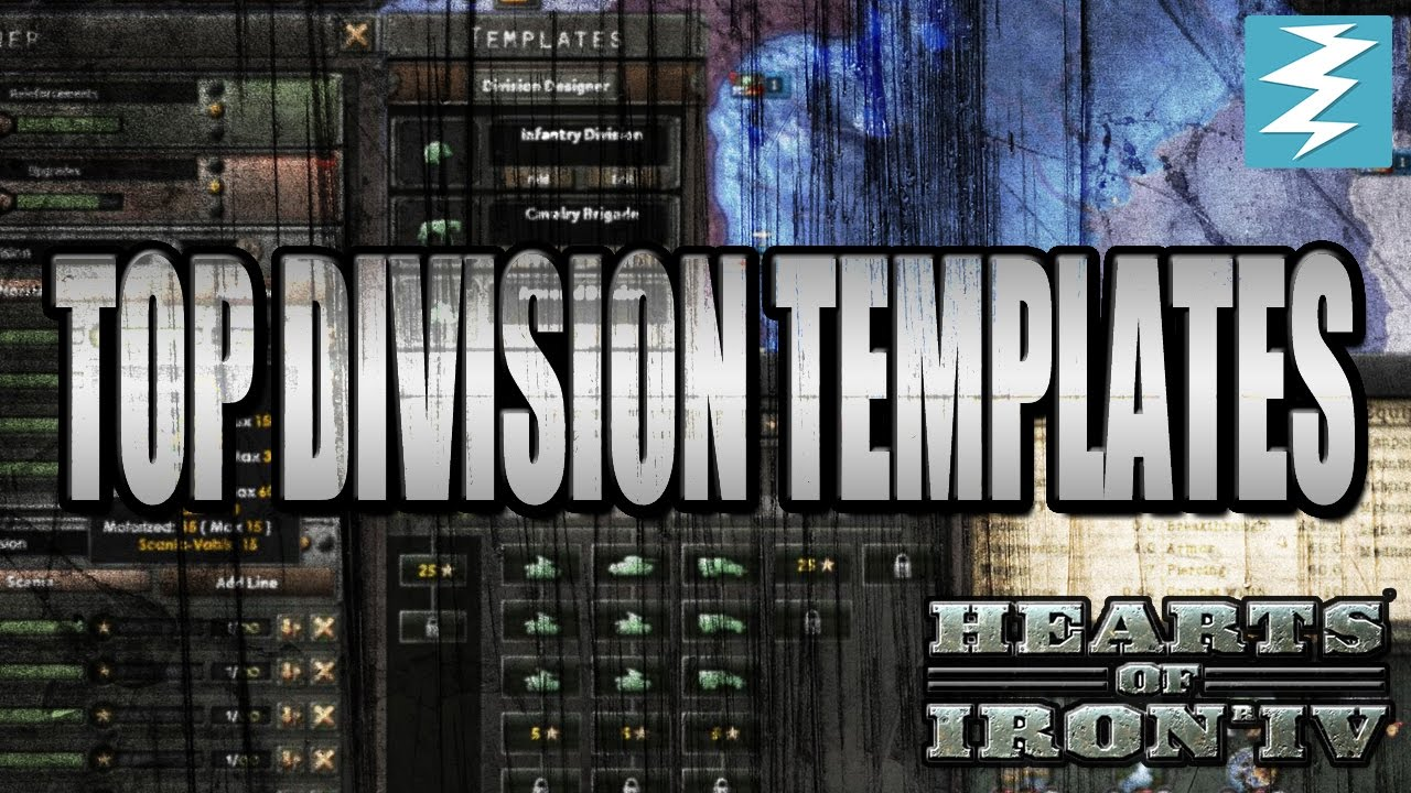 Top Division Templates - Hearts of Iron 4 (HOI4)
