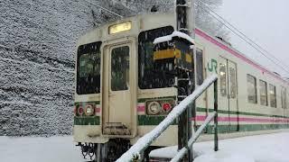 JR東日本107系100番台走行音 吾妻線・上越線 大前→高崎
