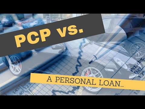 PCP vs PERSONAL LOAN EXAMPLE