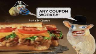 Quiznos Coupon Spongmonkeys in HD(This is the second ad we did for Quiznos - Coupon. In glorious HD! Hoorays! More stuff at http://rathergood.com There was no decent way of getting high quality ..., 2009-11-18T10:36:47.000Z)