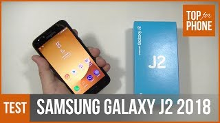 SAMSUNG GALAXY J2 (2018) - test par TopForPhone