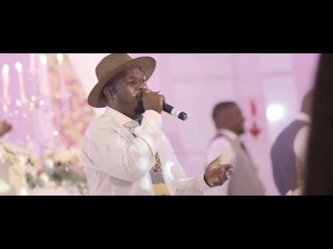 Afrotraction performs a proudly South African medley at a Wedding Celebration