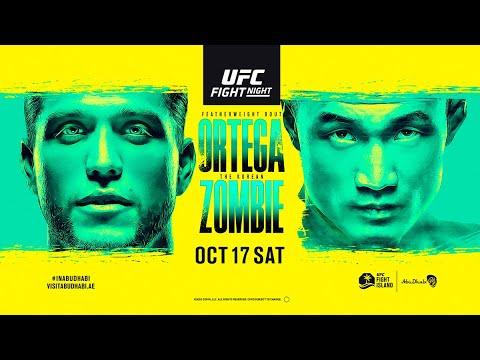 Ортега vs. Корейский зомби. Прогноз на главный бой UFC Fight Night 180: Ortega vs. Zombie 17.10.2020