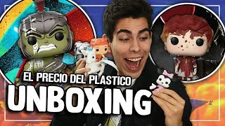 UNBOXING ESPECIAL DE FUNKO POP | El Precio del Plastico #6