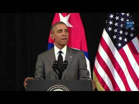 Obama Speaks To Cuban People- Full Speech