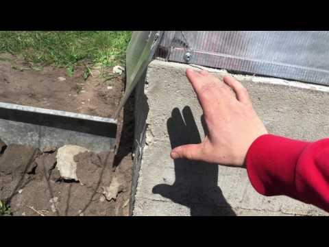 видео: Преимущества бетонного фундамента для теплицы