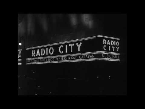 Manhattan Theatre District 1934