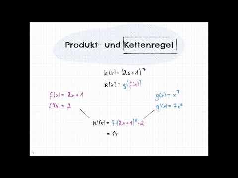 Produkt und Kettenregel - YouTube