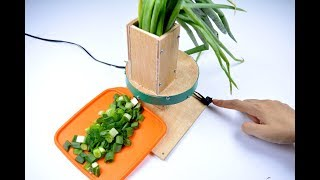 How to Make Leek Slicer , You Can Make it at Home