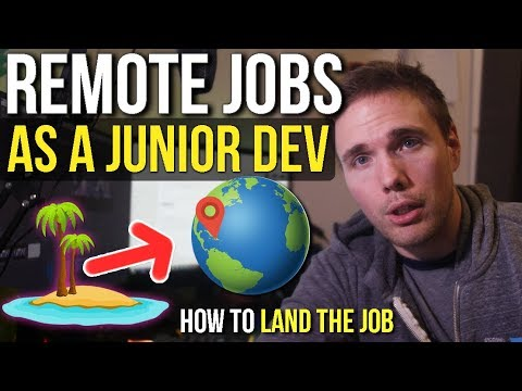 Junior Developer VS Remote Jobs (How To Get It)#grindreel