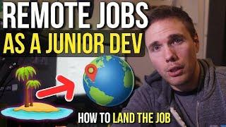 Junior Developer VS Remote Jobs (How to get it)#grindreel