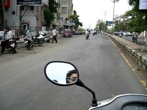 Driving in Amravati India