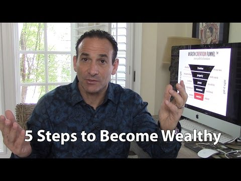 5 Steps to Become Wealthy
