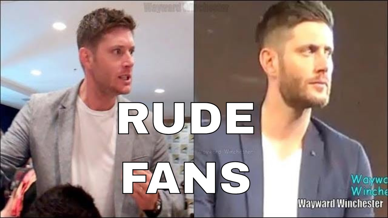 Rude Fans To Supernatural Cast At Conventions