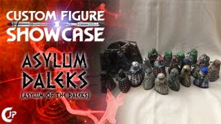 Custom Figure Showcase : Asylum Daleks