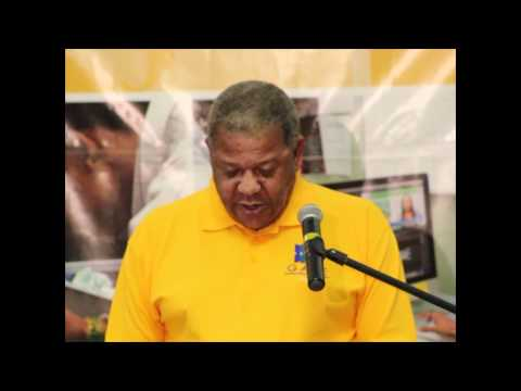 GATE Launch: Remarks by Honourable Dr. Baldwin Spencer