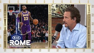 LeBron BLASTS Magic For Quitting on Lakers | The Jim Rome Show