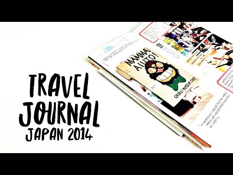 Travel Journal Flip Through: Japan 2014