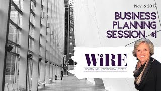 WiRE w/ Debbie Holloway: Business Planning Session #1