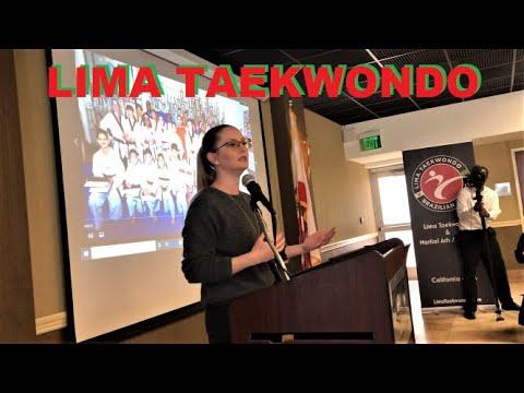 LIMA TAEKWONDO CELEBRATION - NATALIE BAKER || MARTIAL ARTS LOS ANGELES USA MASTER ANDRE CHRISTIANNY