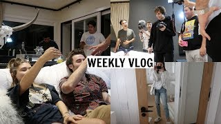 WEEKLY VLOG l Birthday Party Prep, Getting Hypnotized, etc.