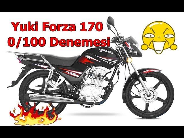 Yuki forza 170 *** O/100 Denemesi?