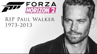 Paul Walker Tribute - Forza Horizon 2