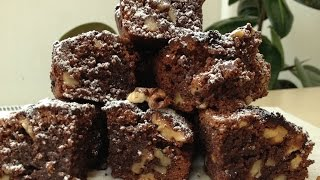 """Очень Вкусный Шоколадный Десерт """"Брауни"""" (Chocolate Brownies Recipe)"""