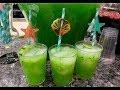 Agua Fresca pepino con limón para Fiestas.