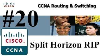 20 - Split Horizon RIP  (Boucle de Routage en RIP) (IPV4) - DARIJA