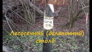 изготовление: столб лесосечный (деляночный). Как сделать