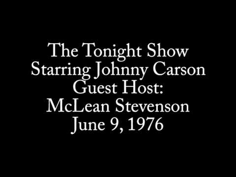 The Tonight . Guest Host McLean Stevenson 691976
