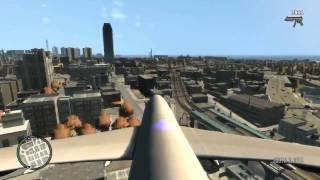 [TUT] GTA IV FLY AN AIRPLANE!