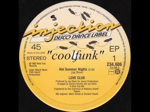 Love Club  Hot Summer Nights 12 Electro DiscoFunk 1983